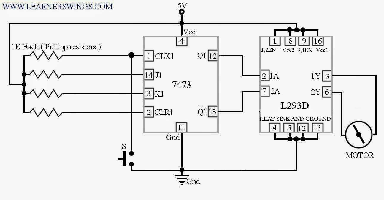 medium resolution of circuit is done as shown in the following diagram