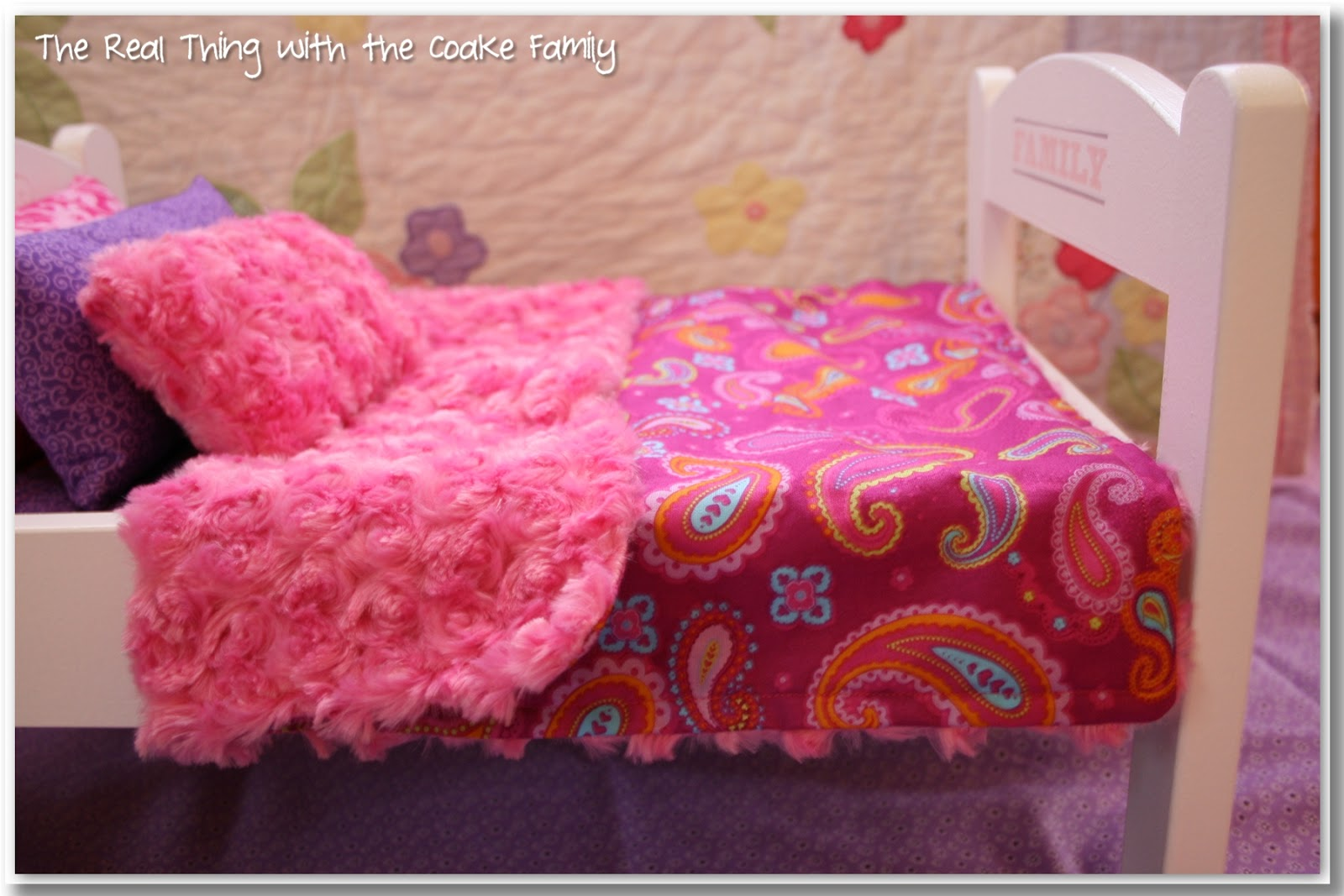 Free American Doll Bedding Pattern Sewing Very Simple And Will Easily Re