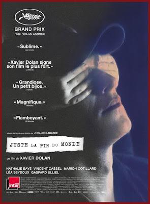 'Solo el fin del mundo' de Xavier Dolan - Poster Francia