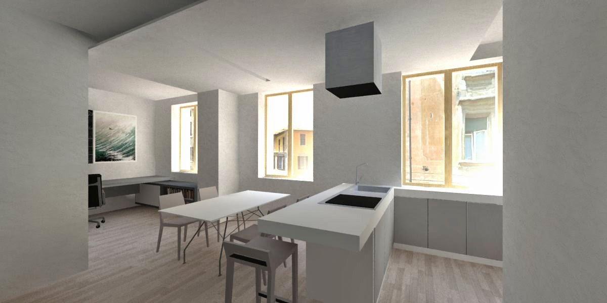 Riccardo bandera architetto clb progetto di interni per for Architetto per interni