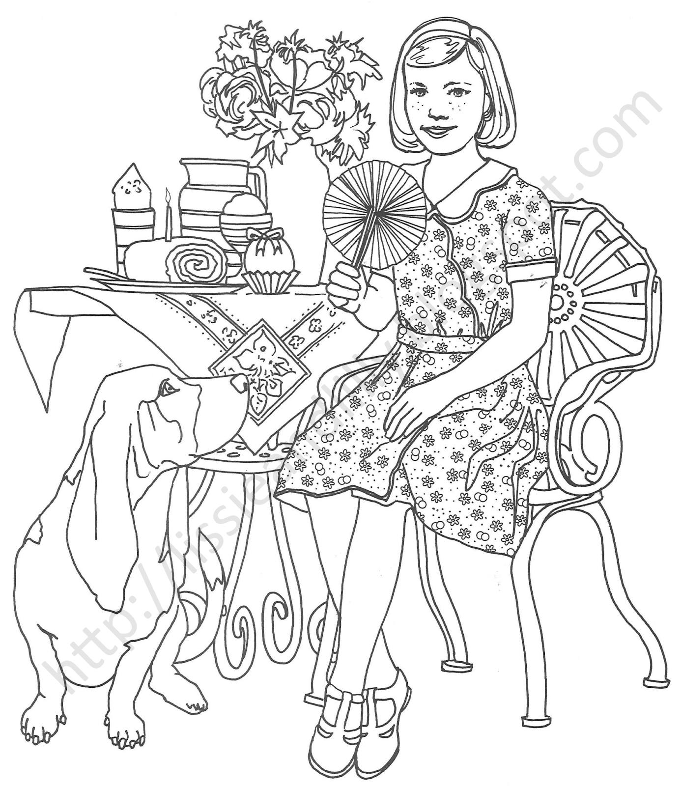 makayla coloring pages - photo#11