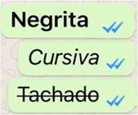 Negrita en WhatsApp
