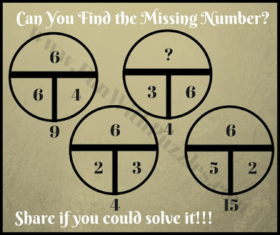 Tough math circle riddle