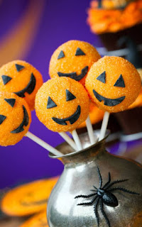 halloween sofra süslemesi
