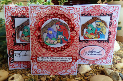 Our Daily Bread designs Joy To The World, ODBD Customer Card of the Day Created by Shaz In Oz