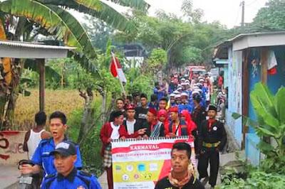 Desa Kedung Pengawas Babelan Gandeng Pemuda Peringati Hari Pahlawan