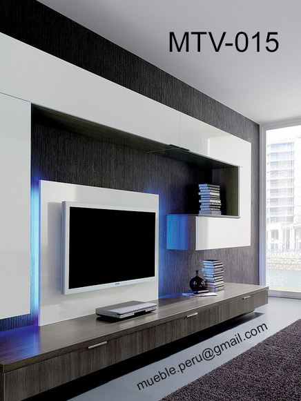 Muebles tv for Muebles modernos living para tv