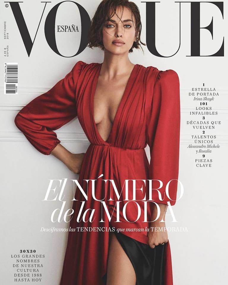 Irina Shayk for Vogue Spain September 2018