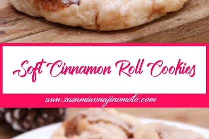 Soft Cinnamon Roll Cookies