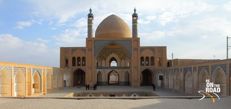 Beautiful Agah Bozorg Mosque of Kashan, Iran