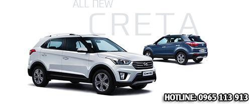 Xe oto Hyundai Creta Hai Phong