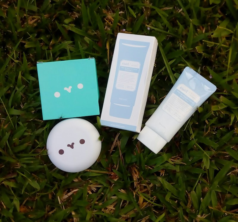 KLAIRS | Mochi BB Cushion & Mid Day Blue Sun Lotion