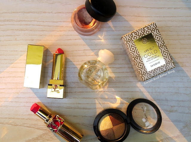 The Body Shop Life is…GOLD Perfume Oil Review