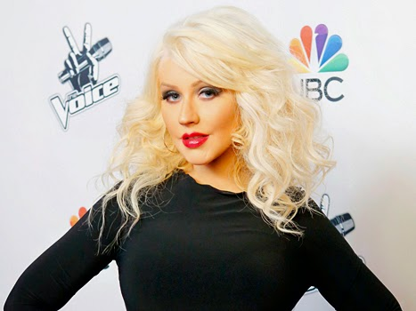Christina Aguilera Goes Brunette For Nashville Guest Role : See Her Dramatic New Hair Color!