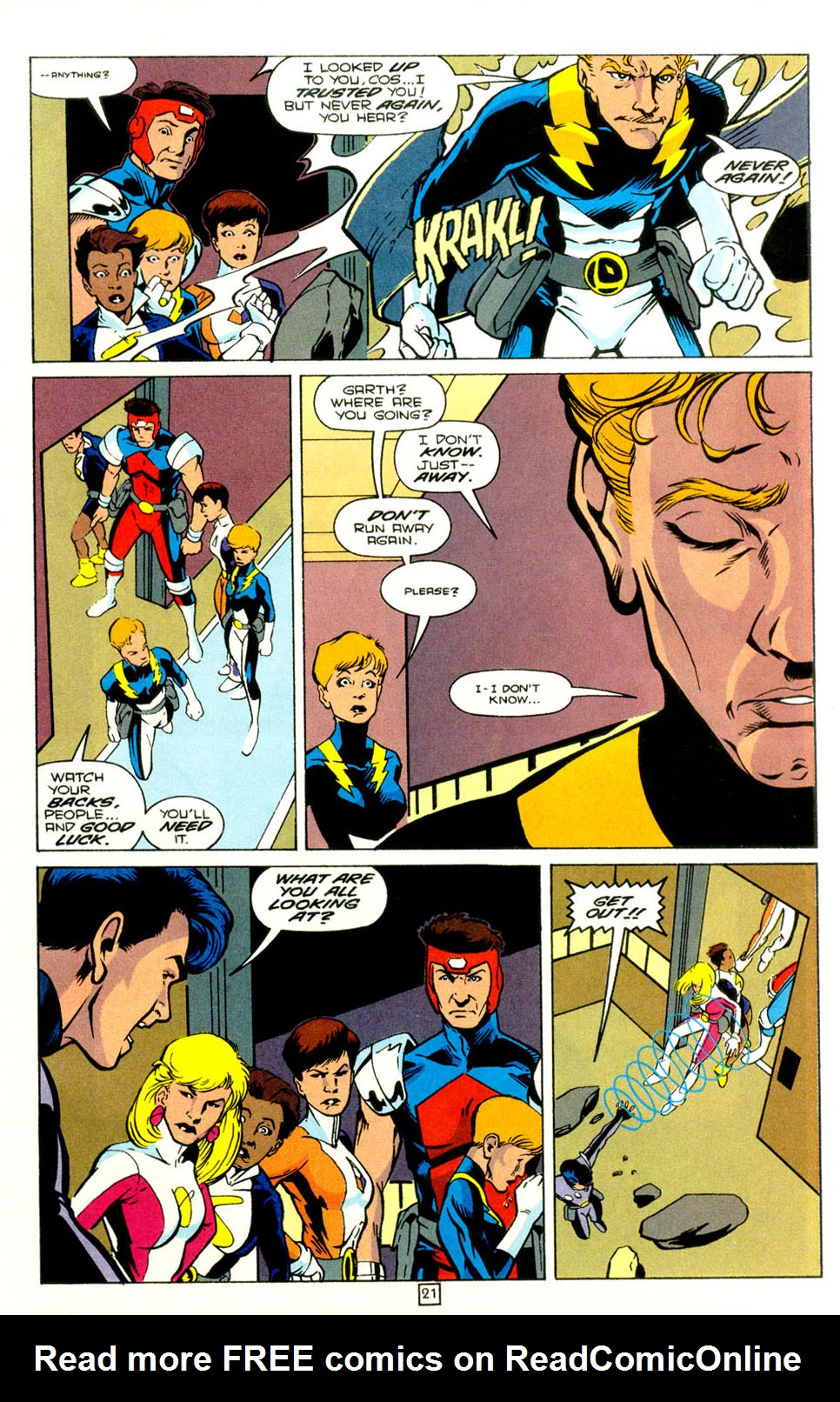 Legion of Super-Heroes (1989) 72 Page 22