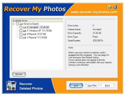 تحميل برنامج استعادة الصور المحذوفة telecharger recover my photos