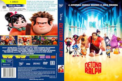 Filme Detona Ralph DVD Capa