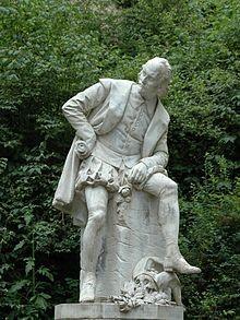 Shakespeare monument in Weimar