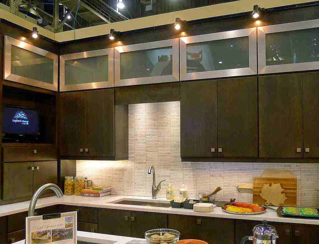 Recessed lighting design ideas - Kitchen led lighting design guidelines ...