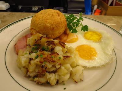 Clinton Street Baking Co., country breakfast