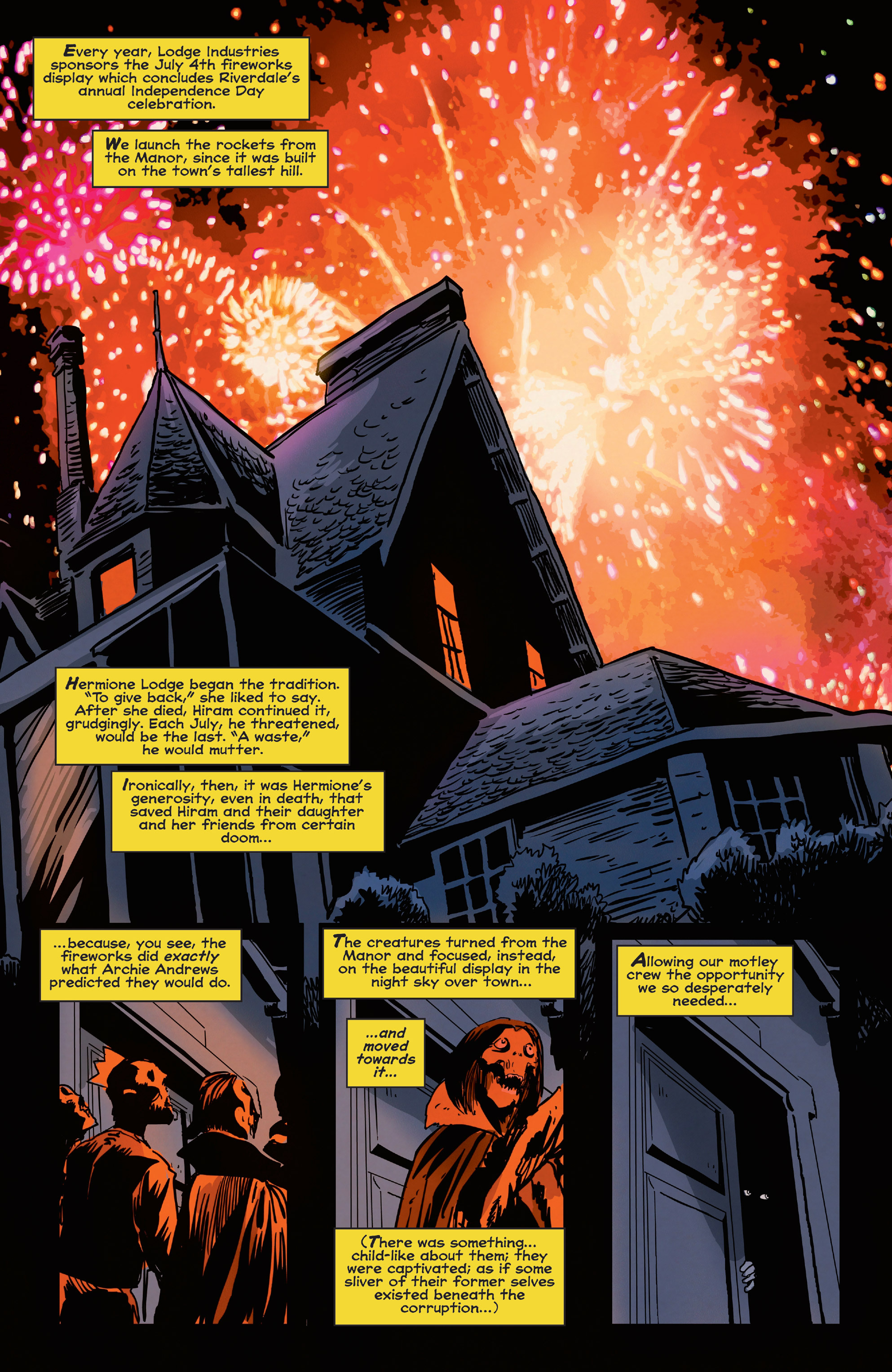 Read online Afterlife with Archie comic -  Issue #5 - 23