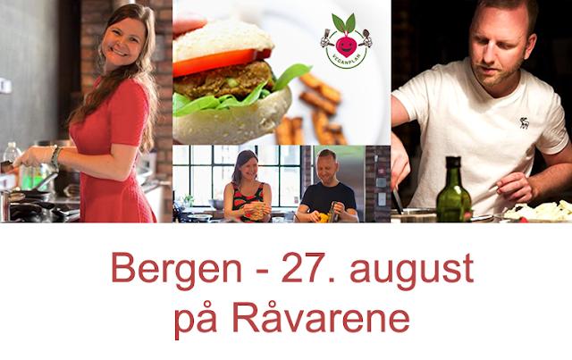 Vegansk Kokkekurs Veganplan Veganmisjonen Veganmannen Råvarene Bergen