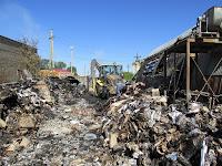 (ФОТО)Пожар в складском помещении