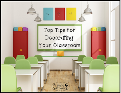 Top tips for decorating your classroom
