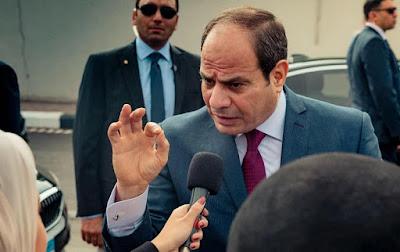 الرئيس السيسى, يوجه رسالة حادة, اللى يزعل يتفلق,