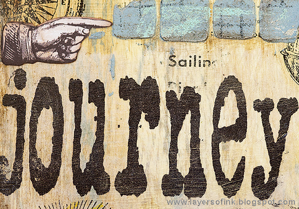 Layers of ink - Sea Journey Etcetera Tag Tutorial by Anna-Karin Evaldsson