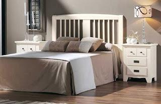 cabecero madera, cama madera, cabezal madera