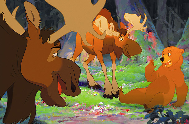 Rutt, Tuke, Kenai Brother Bear 2003 animatedfilmreviews.filminspector.com