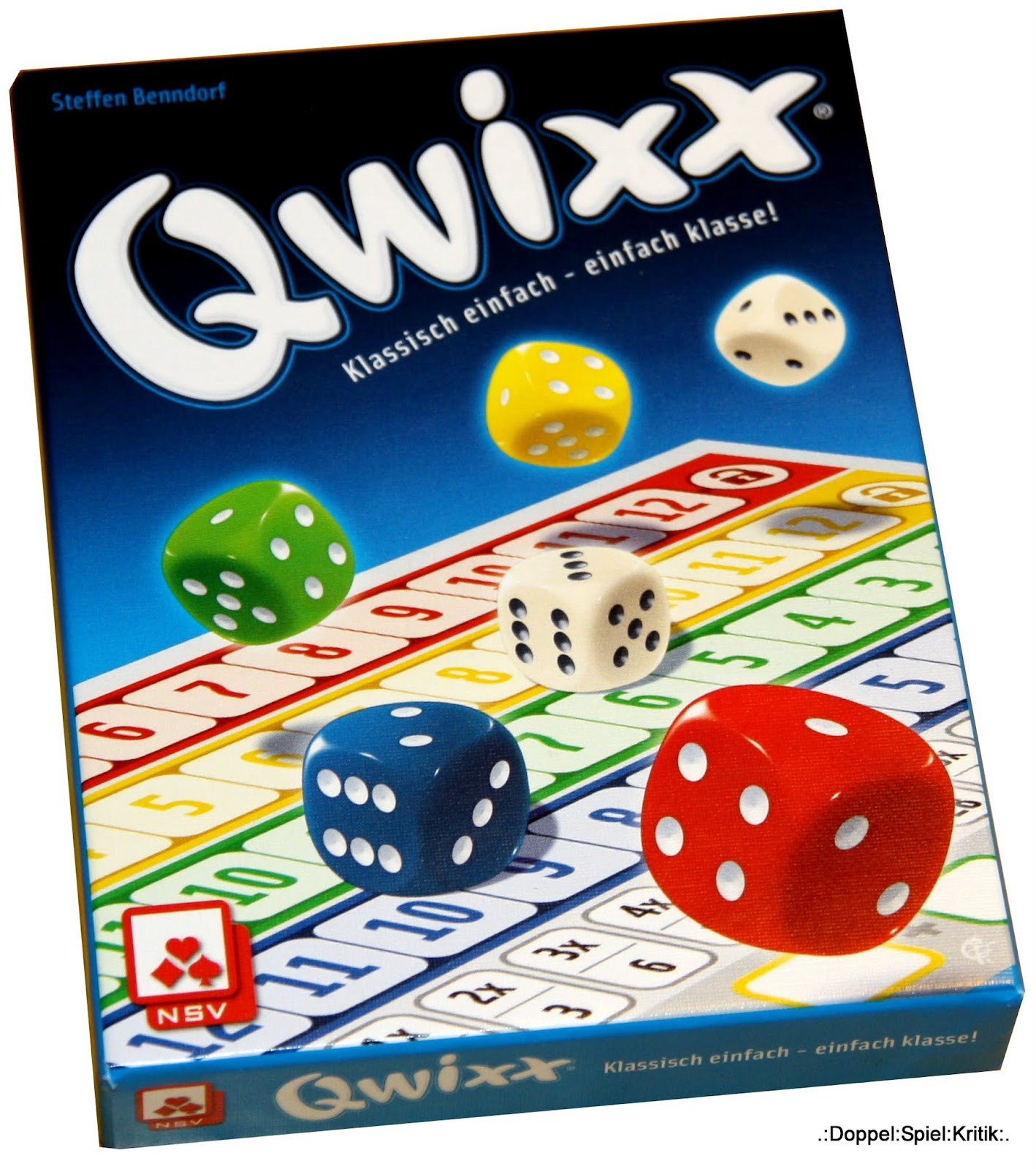 Spiel Qwixx