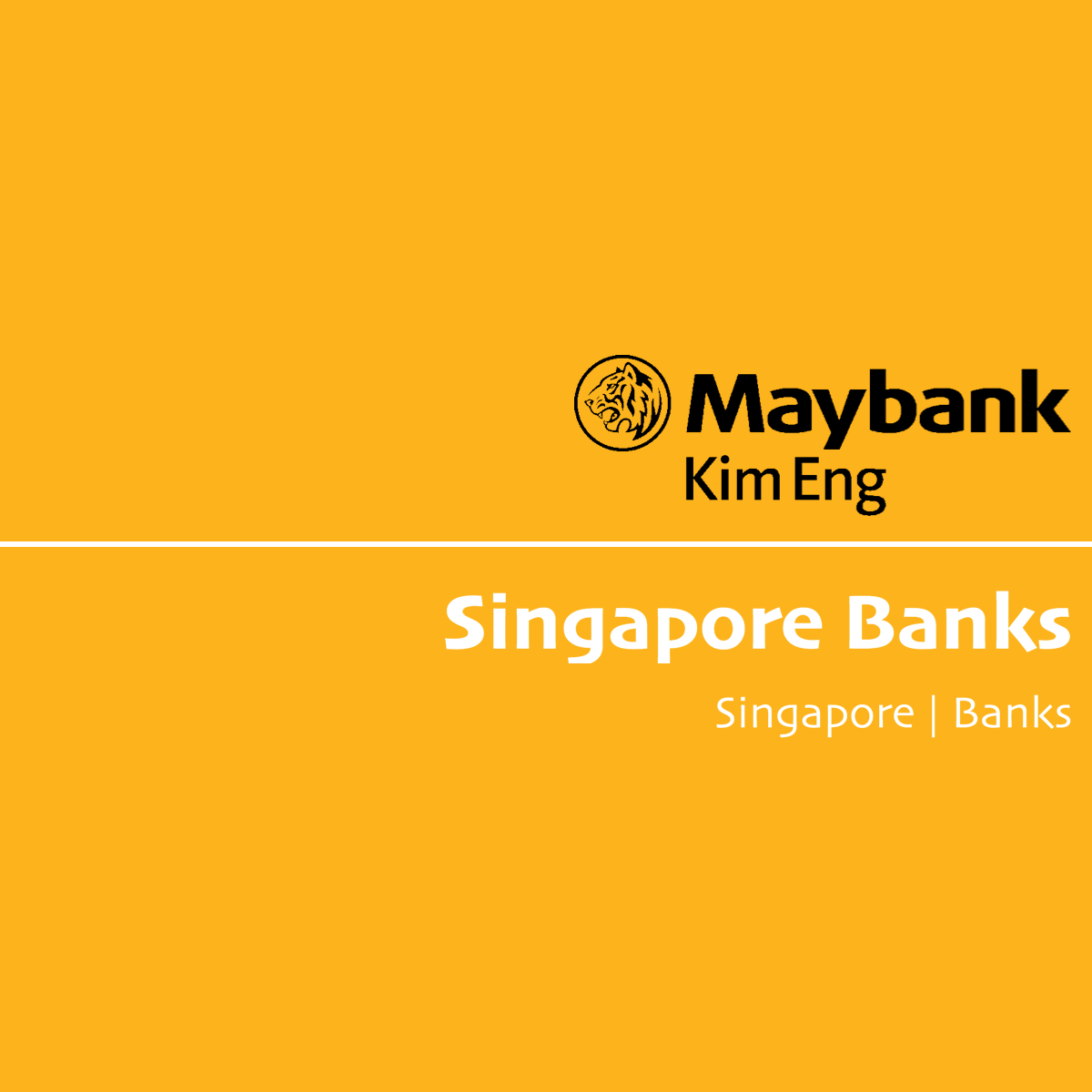 Singapore Banks - Maybank Kim Eng Research | SGinvestors.io