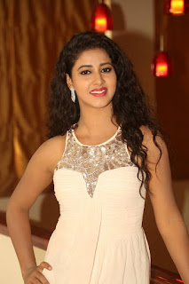 Pavani in a Sleevless Cream Jumpsuit Spicy Pics