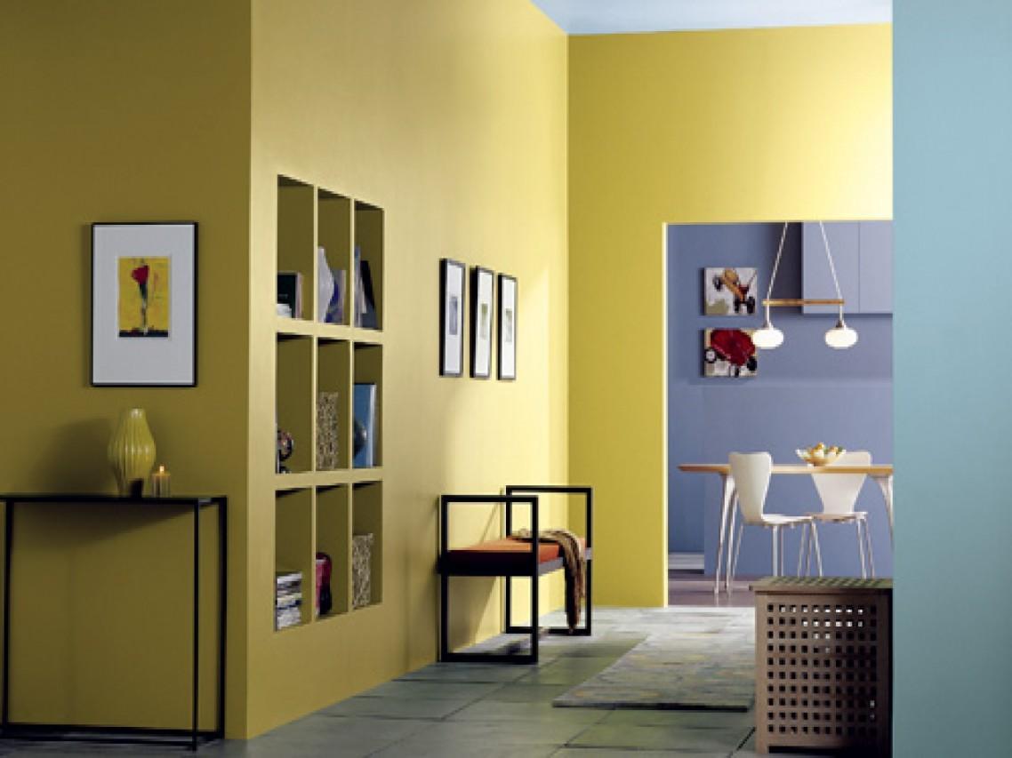 25 trend cat minimalis dalam rumah terbaru - Desain Dekorasi