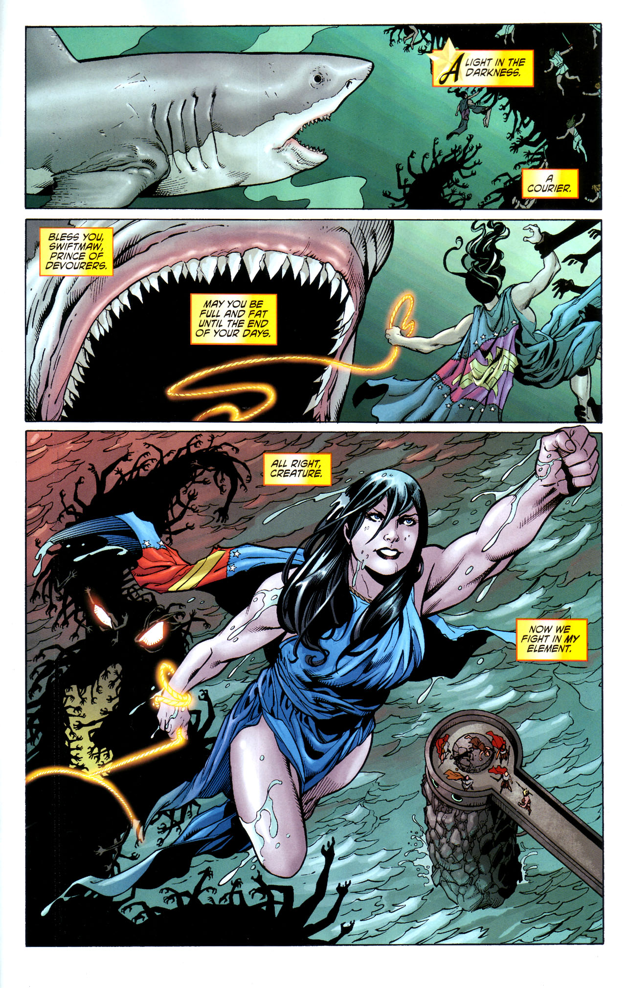 Read online Wonder Woman (2006) comic -  Issue #39 - 14