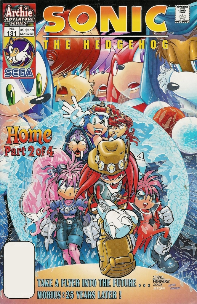 Read online Sonic The Hedgehog comic -  Issue #131 - 1