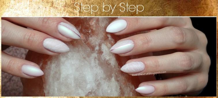 Cosmetics Zone    PST2 Bright Lilac    003 Intense White    Born Pretty Mirror Glitter Powder   rose quartz nails  farbki akwarelowe na paznokcie   różowy kwarc   zdobienie na hybrydzie   tutorial   nails step by step   mani step by step  