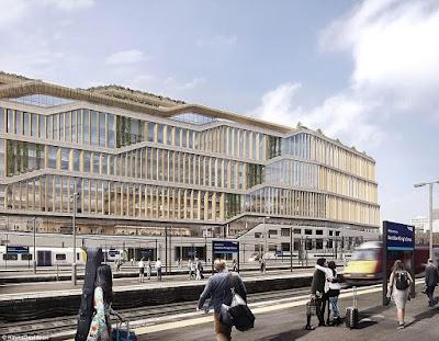 3 - Google unveils plans for its new £1billion London based Headquarters (photos)