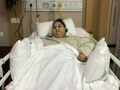World's fattest woman sheds 323kg, leaves hospital