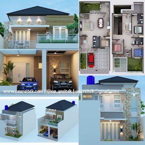 Desain Rumah Ibu Reyhan di Bekasi