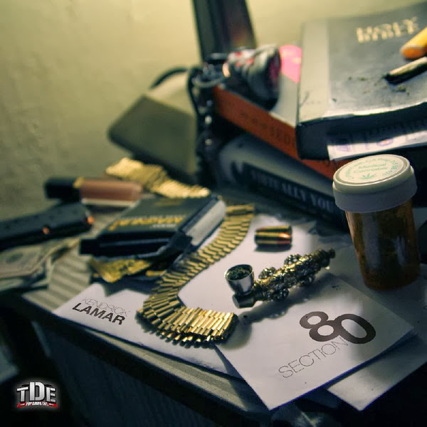 Kendrick Lamar - Section.80 Cover
