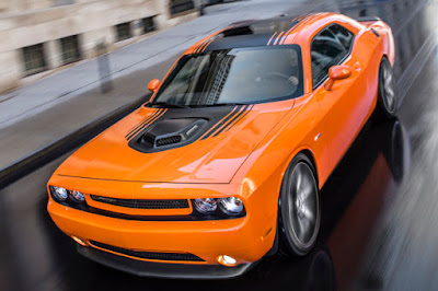 Dodge Challenger GT orange hd wallpaper