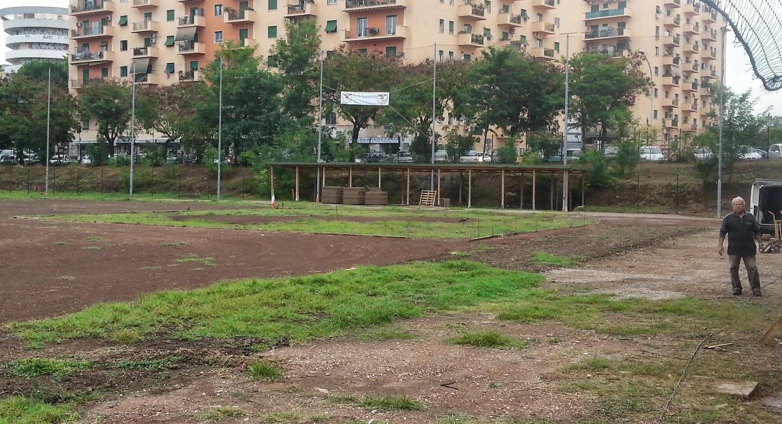 A San Paolo lo Stadio di Baseball quasi ultimato. fotosportnotizie.com