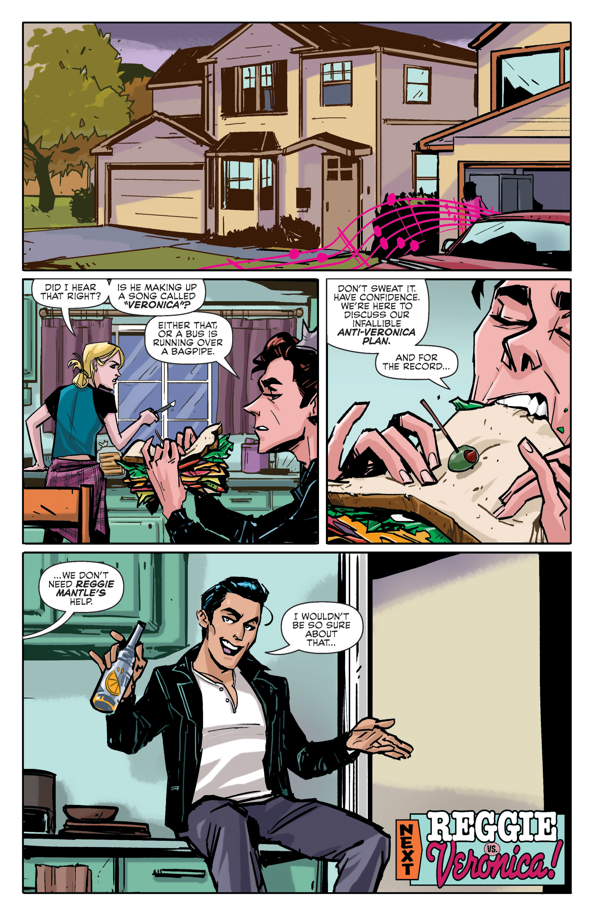 Read online Archie (2015) comic -  Issue #4 - 23