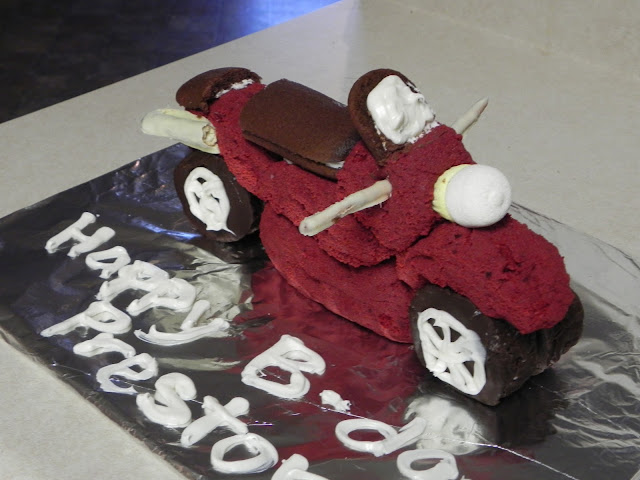The Ward Crew Continued The Motorcycle Cake