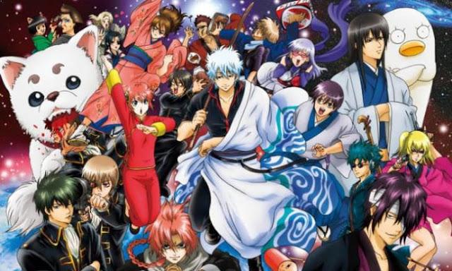 Gintama - Best Anime Like Hinamatsuri (Hina Festival)