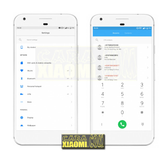 Download Thema Xiaomi MIUI V9 Tampilan Pixel Oreo Mtz For Redmi