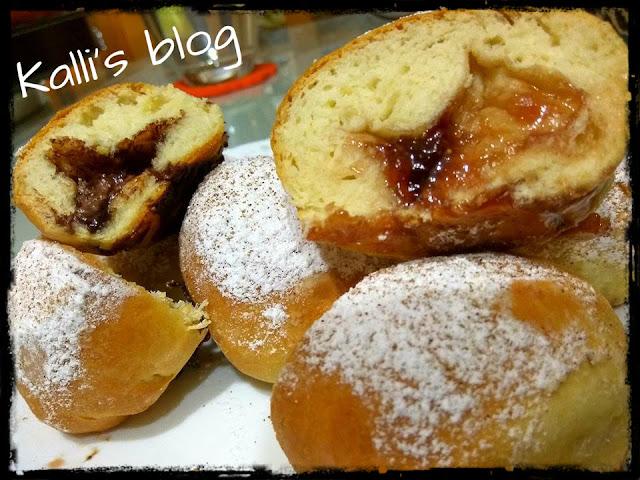 Berliner - ντονατσάκια φούρνου